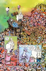 Regular Show Issue 2, Page 1 by firecloud