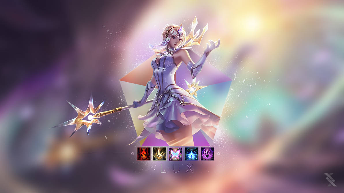 Elementalist Lux By Xael Design On Deviantart