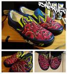 snerm2 Footwear by GlacierFusion
