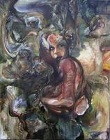 Figure in A Lanscape by Naikoivanenko