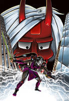 Lady Katana 01 Comics cover A by Madd-og