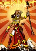Sekhmet's Wrath !!! by Madd-og