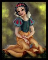 Princess coloring : Snow-White by 0Snow-White0