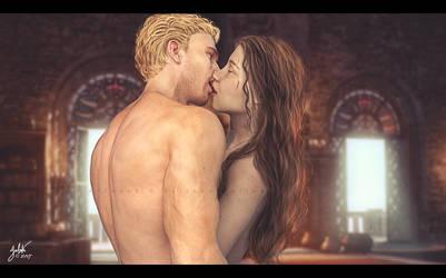 Kiss 3456 by 0Snow-White0
