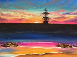 Candy Sunset by Lambieb123