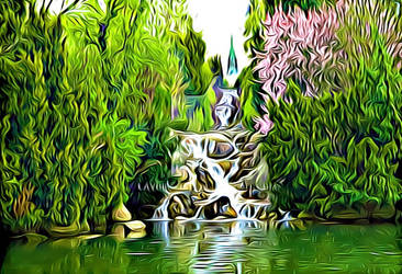 Small Waterfall-Digitalized by Lambieb123