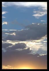 Sun setting by LookingGlassArt