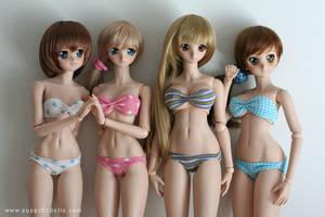 Dollfie swimwear XD by chun52