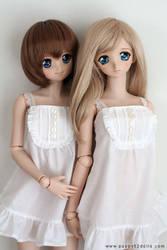 White dresses by chun52