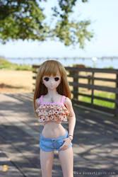 Aki in Summer by chun52