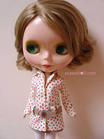 Coat with belt for blythes by chun52