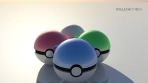 LOK- Choose your Element Poke balls by SirNerdly