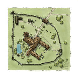 Mapvember Prompt - Day 10: Pallisades Park by Ashlerb