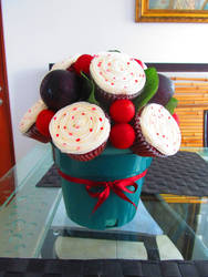 Cupcakes Bouquet by GothicMisty