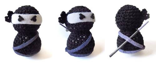 Amigurumi Ninja by GothicMisty