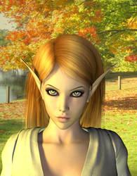 Khoravar Elf by Atlantean6