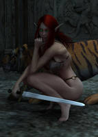 Barbarian Elf by Atlantean6