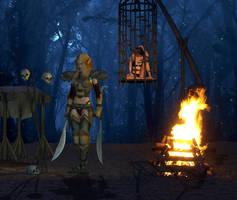 Prisoner in the Ghostlands by Atlantean6