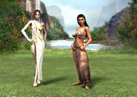 Atlantean costumes by Atlantean6