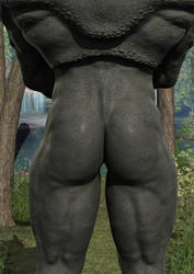 Rhino Butt by Atlantean6