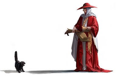 The Inquistor Vs the black cat by BenWootten