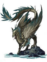 Young Bronze Dragon by BenWootten