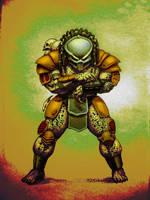 Predator (color) by PitBOTTOM