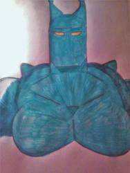 Blue Gocha: Slime blu by wolfdragonblood