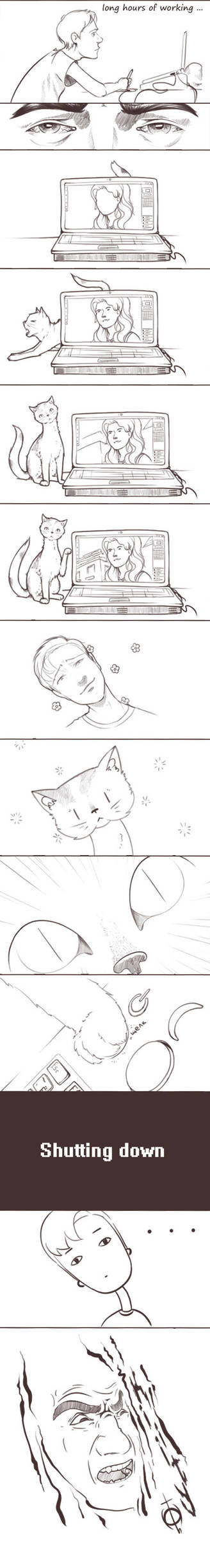 Life with cats by Jorn-Siberian