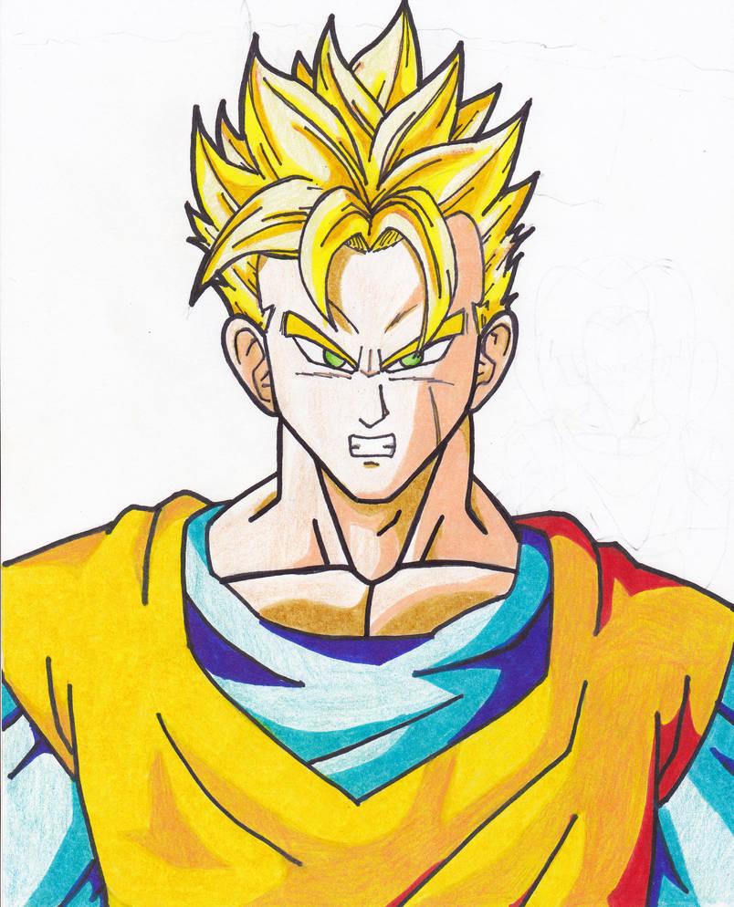 Future Gohan Ssj 2 By Major Goku On Deviantart