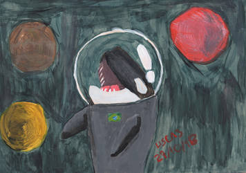 Space Orca by Uscas