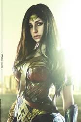 Wonder Woman - Batman v Superman by AmbraAura
