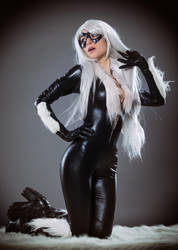 Black Cat by AmbraAura