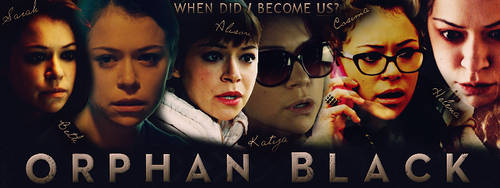 Orphan Black banner by InvidiaLeFay