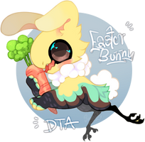 Easter bunny DTA - FTO - CLOSED - WINNER by Simonetry