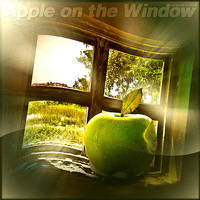 Apple on the Window by inObrAS