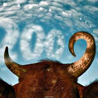Happy Ox Year by inObrAS