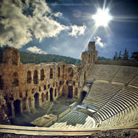 Odeon of Herodes Atticus by inObrAS