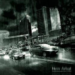 Moscow New Arbat by inObrAS