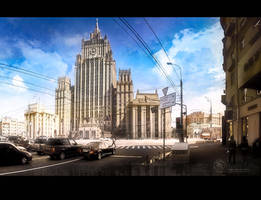Ministry of Foreign Affairs Moscow by inObrAS