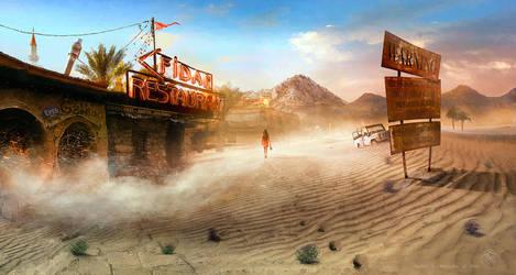Desert Catwalk by inObrAS
