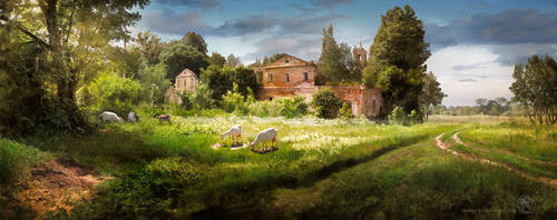 Russian Pastoral by inObrAS