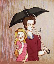 Rainy Day Shyness by CookiexFweak