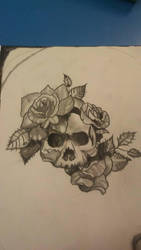 Skull and Roses by GeneralTLV
