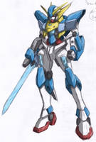 Spark Gundam AD2 - Full Color by rnds