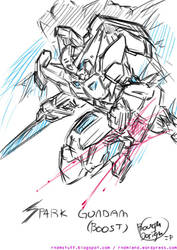 Spark Gundam Boost by rnds