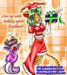 Holiday Gift 7 for Kayikoni by AzureRat