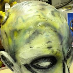 Paint Progress Christopher Carrion Carrion 1 by DaveRichardsonArt