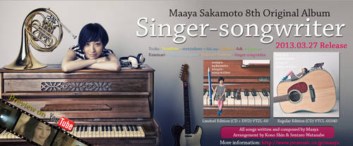 Singer-songwriter Information Ad II by countdown65