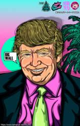 Donald Trump's euphory by Atsuko-09